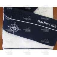 Полотенце махровое с вышивкой MARINE CLUB (50*100 см)