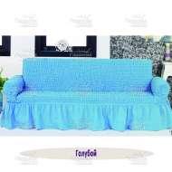 Чехол на 3-хм диван Venera, голубой