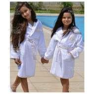 Набор (халат и тапочки) для девочки ALFA