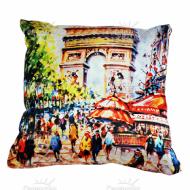 Подушка интерьерная Франция (Париж) 01