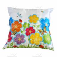 Подушка интерьерная Цветы 24