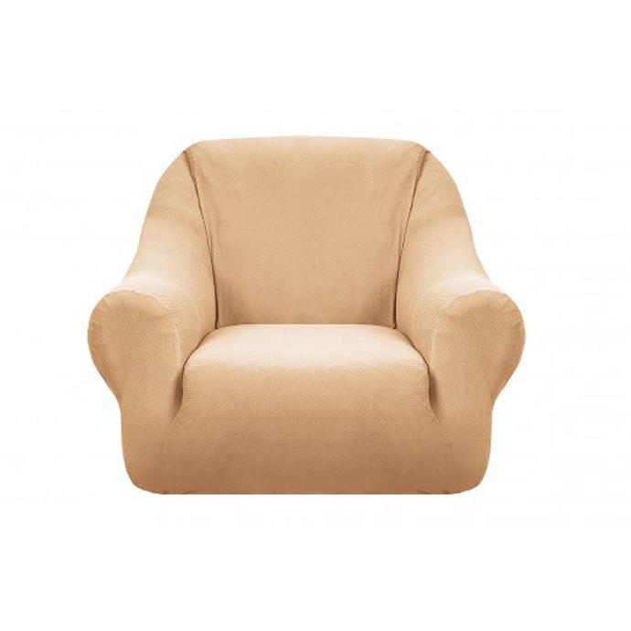 Чехол на кресло Бирмингем бежевый