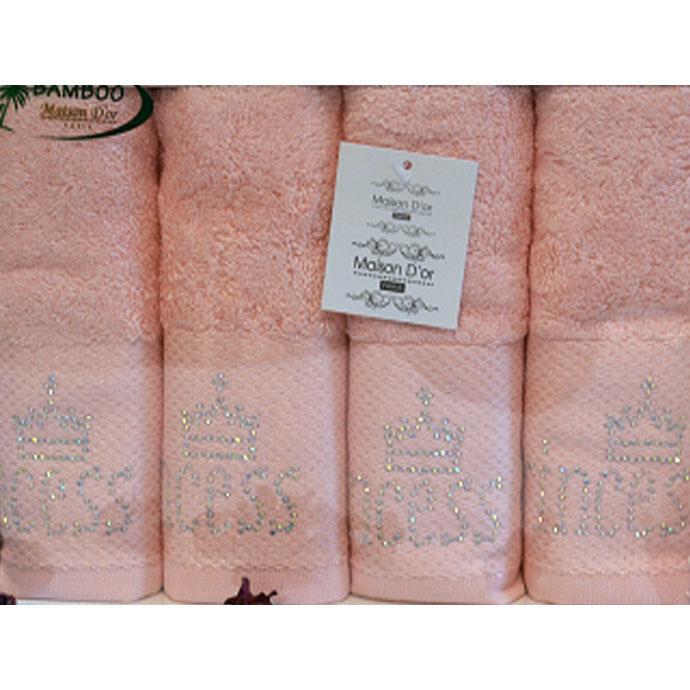 Набор салфеток махровый со стразами TASLI (4 шт)