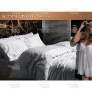 КПБ сатин делюкс с кружевом и стразами BONNE NUIT (евро)
