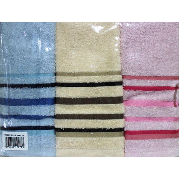 Набор махровый TOWEL SET (6 шт)
