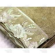 Полотенце махровое с гипюром GLORIA (85*150 см)