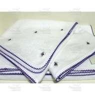 Полотенце махровое с вышивкой KELEBEK (50*100 см)