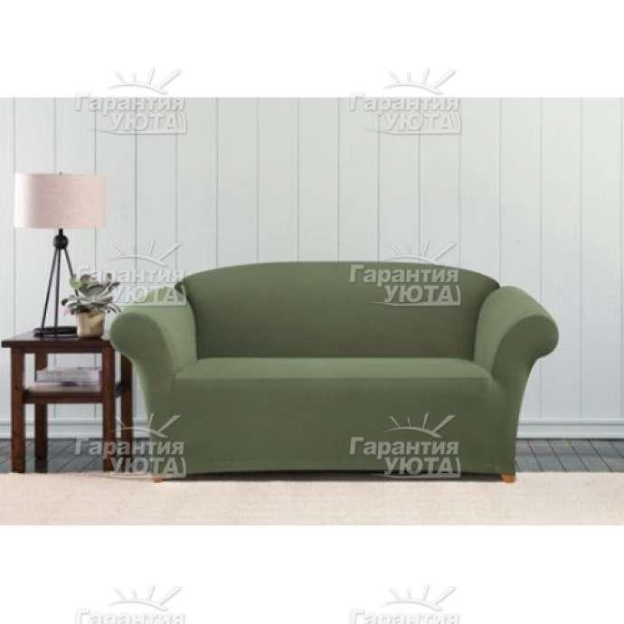 Чехол на диван Бирмингем оливковый