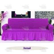 Чехол на 3-хм диван Venera, лиловый