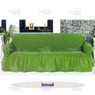 Чехол на 3-хм диван Venera, зелёный