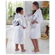 Набор (халат и тапочки) для девочки LUNA