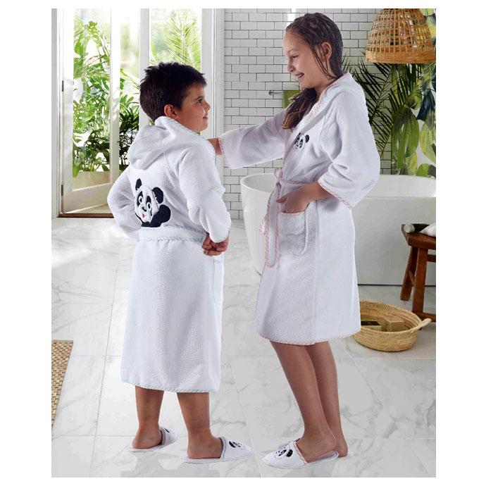 Набор (халат и тапочки) для мальчика LUNA