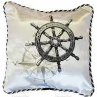 Подушка интерьерная Морская 02