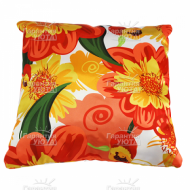 Подушка интерьерная Цветы 01