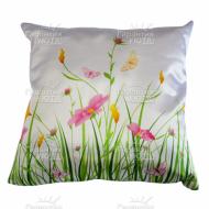 Подушка интерьерная Цветы 22