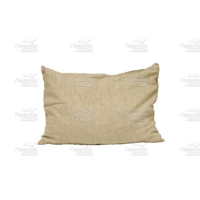 Подушка Кедровая скорлупа (лён)