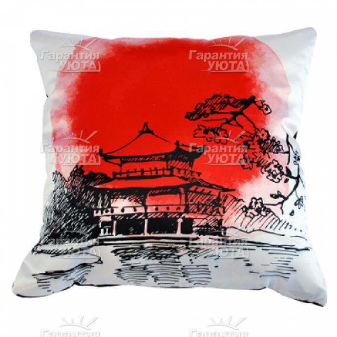 Интерьерная подушка Япония