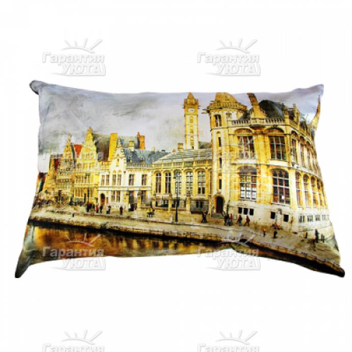 Декоративная подушка Париж