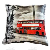Подушка интерьерная Англия (Лондон) 01