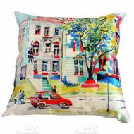 Подушка интерьерная Франция (Париж) 10