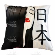 Подушка интерьерная Япония 02