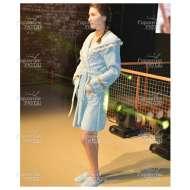 Набор (халат с капюшоном и тапочки) махровый VANESSA (размер L)