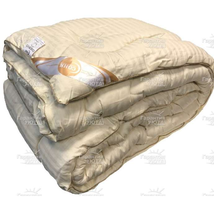 Одеяло МЕРИНОС Сатин очень тёплое