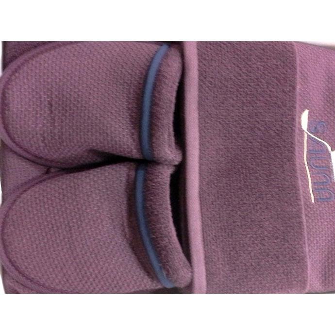 Набор для сауны (парео, полотенце, тапочки) DUFOUR