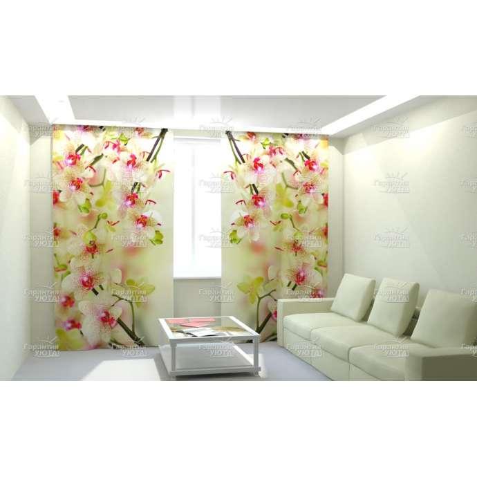 Фотошторы Воздушная орхидея