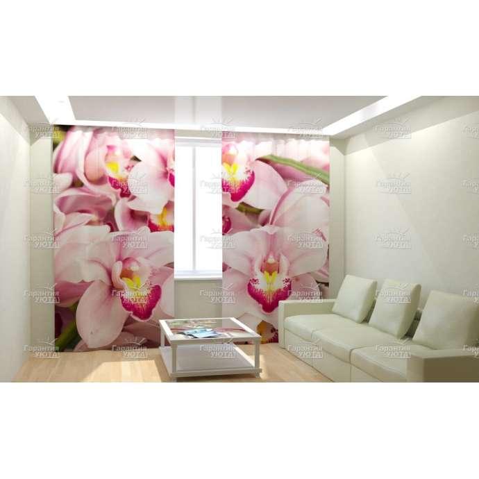 Фотошторы Манящие орхидеи