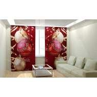 Фотошторы Новогодняя Коллекция Рим-Декор 70